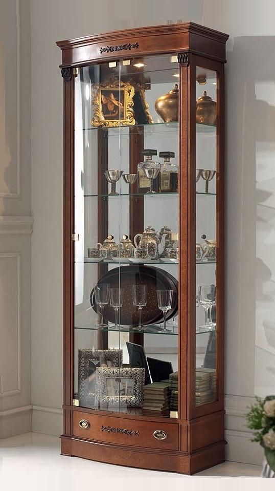 Угловой шкаф для посуды фото